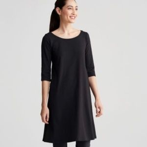 Eileen Fisher Organic Cotton Jersey Dress
